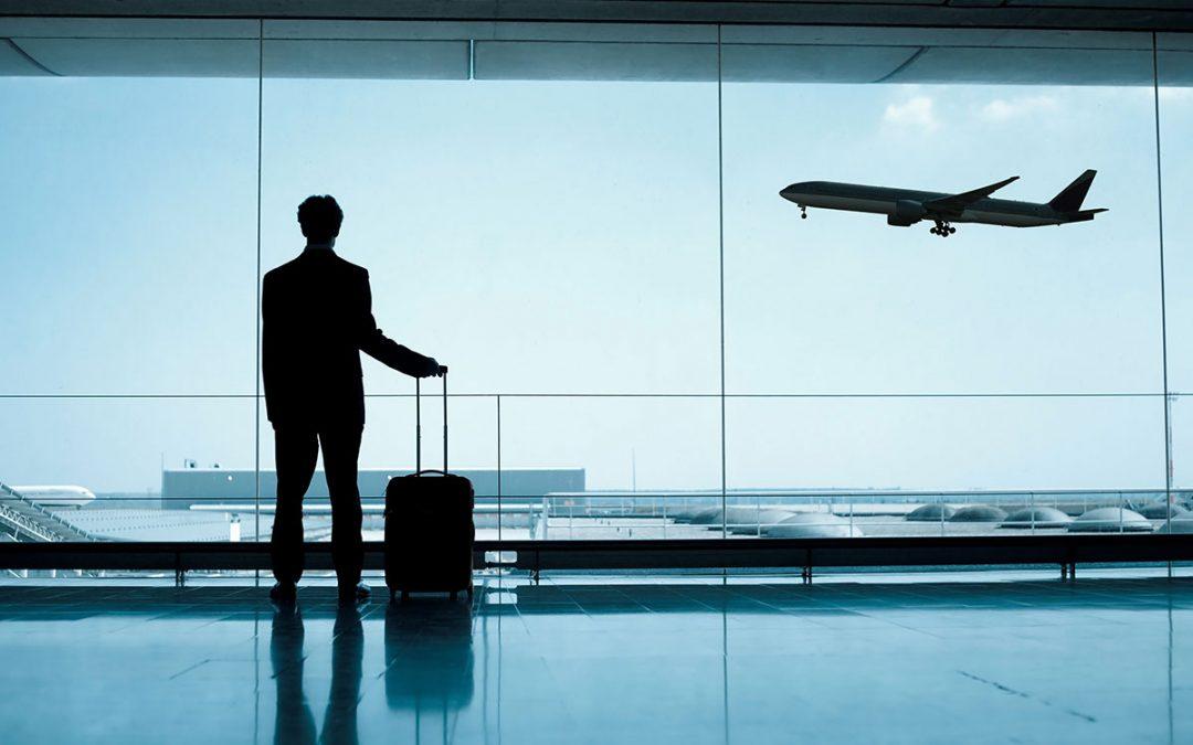 Los viajes de negocio importunan al trabajador